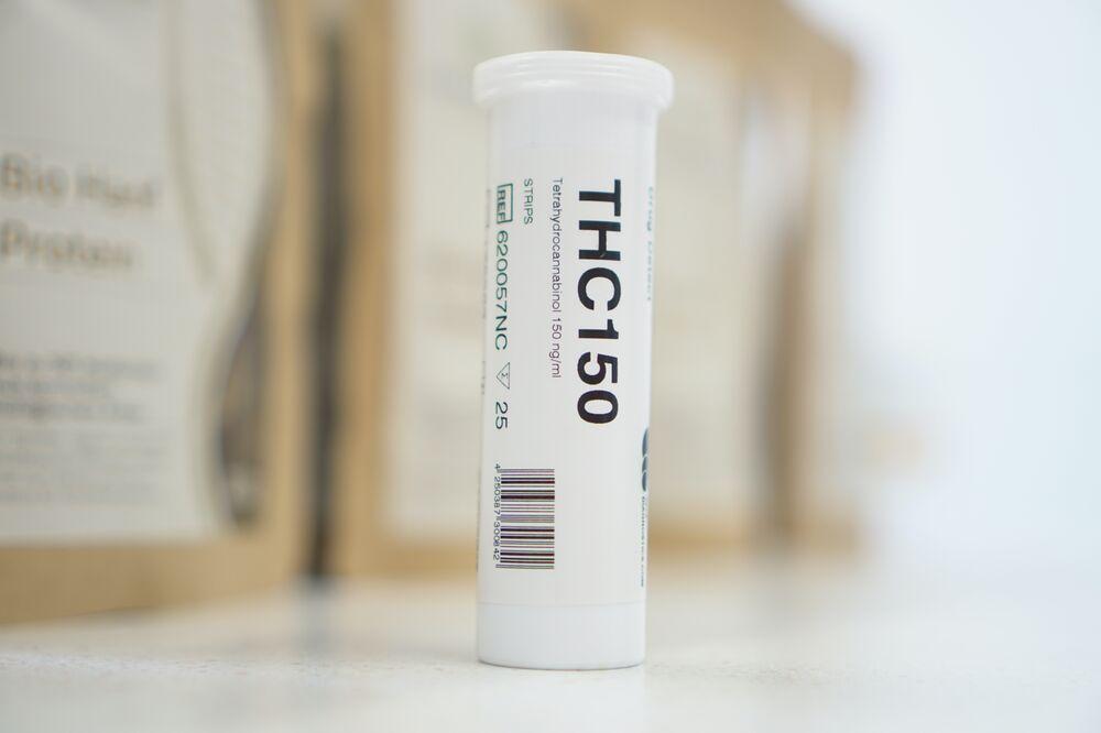 Offizielle THC Anti Doping Tests der WADA