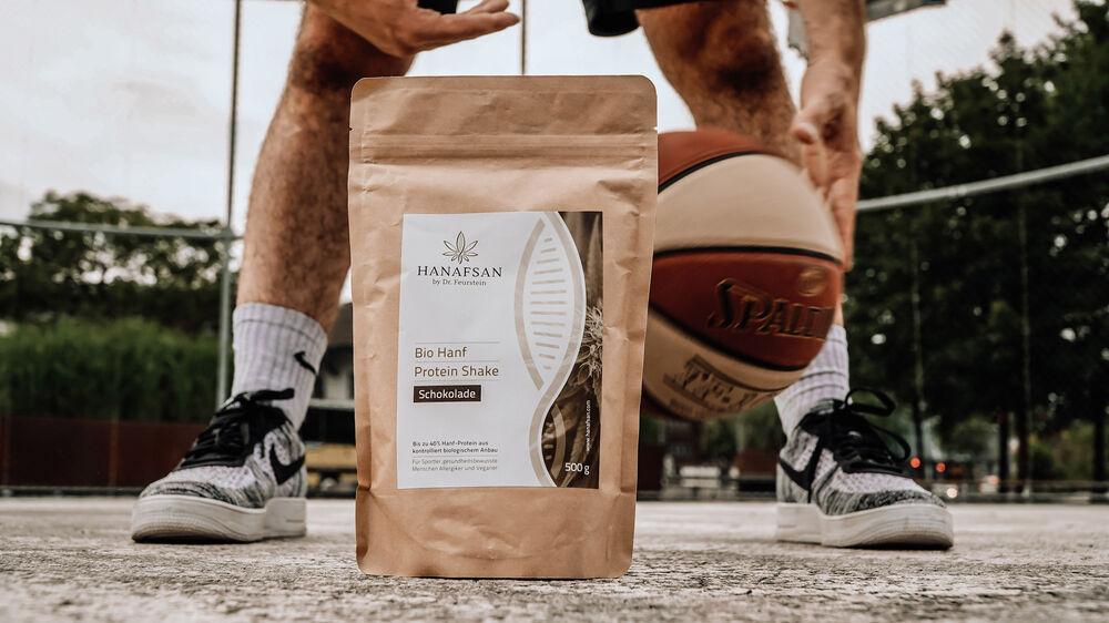 Hanf-Protein für Sportler