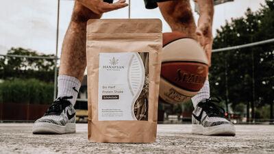 Hanf Protein-Shake für Sportler