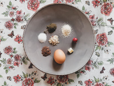 Zutaten für Hanfkuchen